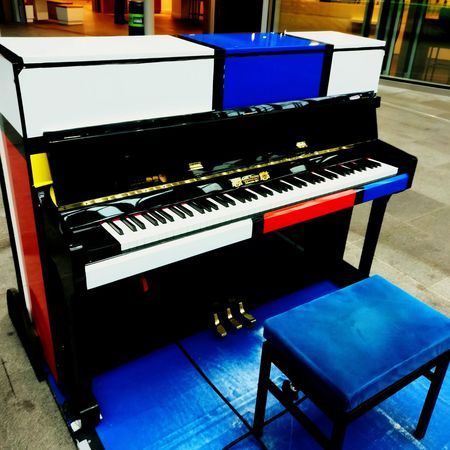Music Musical Instrument Piano Arts Culture And Entertainment Piano Key Indoors  Sound Recording Equipment No People Technology Day Thehague  Trainstation Party Musician Concert Music Is My Life Musical Instrument String Music Instrument Cuerdas Teclas De Piano Tarde  Espera Waiting Singing Playing