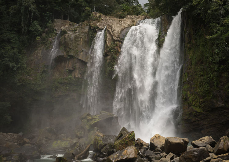Costa Rica Beauty In Nature Forest Nature No People Outdoors Scenics Waterfall