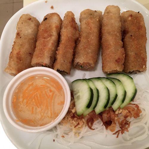 Vietnamese spring rolls. Vietnamese Food Spring Roll Nem Bun Food Porn Food Photography