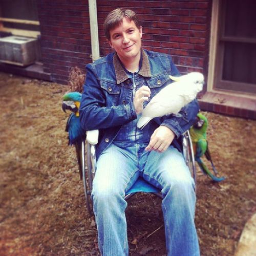 """You sold a dead bird to a blind kid?"" The blind kid is back! Dumbanddumberto Dumbanddumber Pete  @officialjimmyc Blind dead bird jeffdaniels jimcarrey"