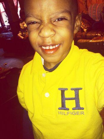 My baby cousin. I love him Mali =)