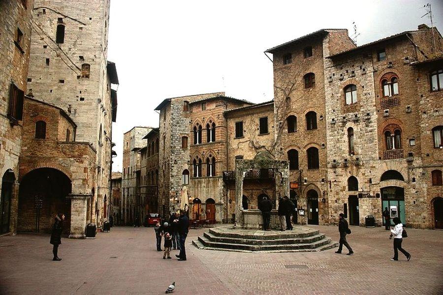 Sangimignano Italy Italia Toscana Toscany Ciao Bella Vila Tower Travel