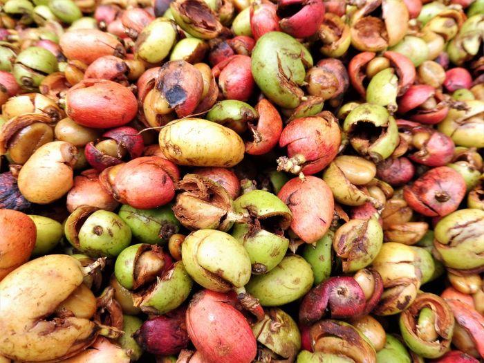 Full frame shot of fruits for sale
