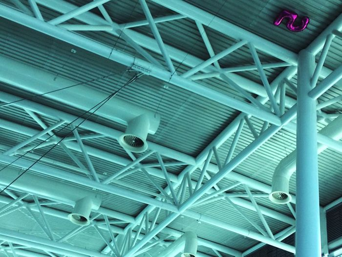 Built Structure Indoors  Ceiling Full Frame No People Backgrounds Architecture Low Angle View Strange Five Number The Architect - 2017 EyeEm Awards