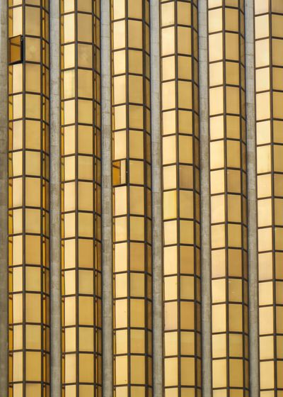 Backgrounds Architecture Full Frame Built Structure Pattern No People Building Exterior Repetition In A Row Building Grid Window Day Modern Sunlight Metal Design