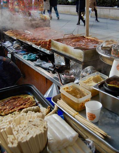 Korea Seoul Delicious Hot Food Korean Stand Masissoyo Ready-to-eat