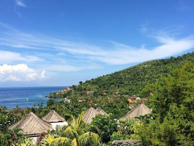 Colour Of Life Amed Bali INDONESIA Living By The Sea