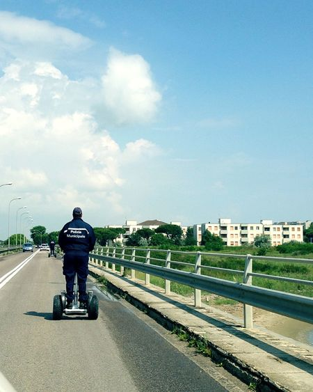My Commute Local Police reaching southern beaches of Ravenna on their Segway My everyday's Job 🇮🇹 Sofiavicchi Sofiavicchiconceptdesign Segway Gangs Segway Ride Transport Transportation Police Police At Work Uniform