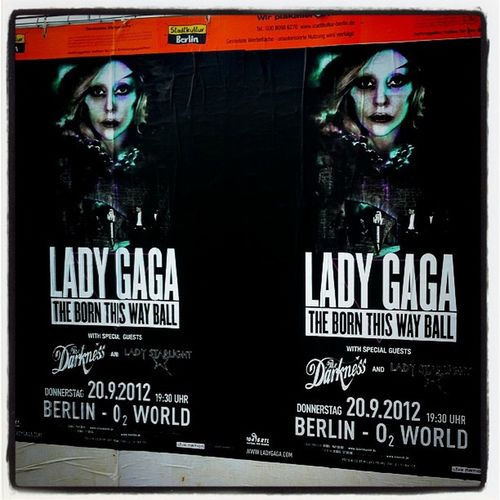 SOON!!! #ladygaga #Berlin #Poster #thedarkness #ladystarlight #BTWball #personal Berlin Poster Personal Ladygaga Btwball Ladystarlight Thedarkness