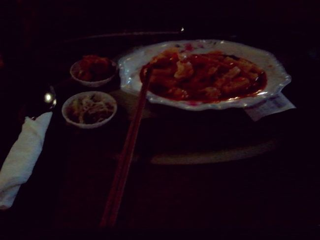 First time eat Korea Food. It's called tokbokki. Delicous but too hott. Need water right noww. OMG >.< Tokbokki Korea Food Food Porn Hot 'n Spicy
