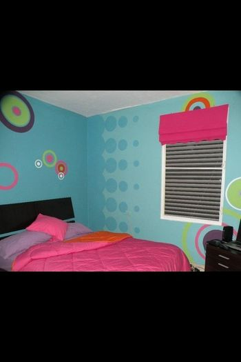 my 2 daughter room done by mamy liz