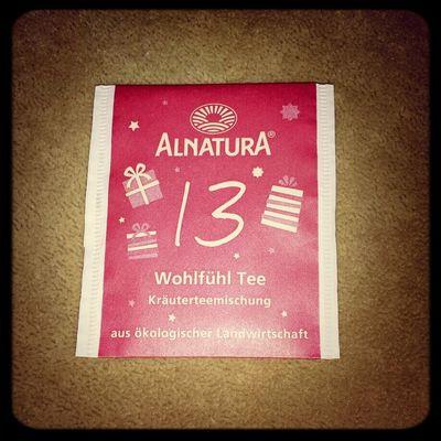 War lecker,trotz des Ingwers drin... Tea ALNATURA