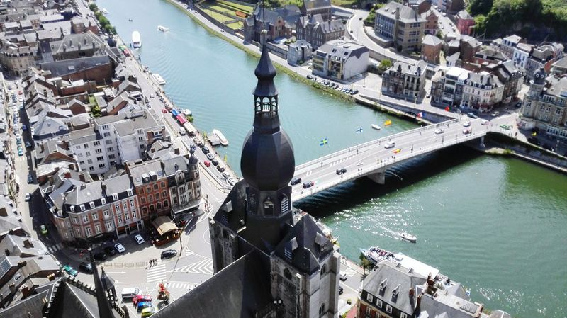 Belgium♡ Dinant Belgium Dinant Sunny Day Nice Weather The 00 Mission