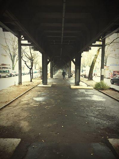 Walking Around U-Bahn