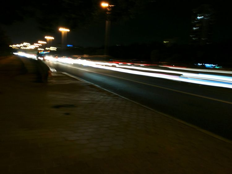 My Year My View night photography Illuminated Street Light Motion Long Exposure Outdoors No People Street Photography Public Transportion Motion Effect Available Light Photography Mode Of Transport Transportation No Edits No Filters Purist In Photography Buses