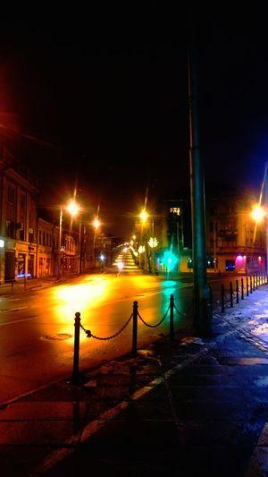 Night Kaunas Street Light Outdoors Colourstreet The Street Photographer - 2017 EyeEm Awards