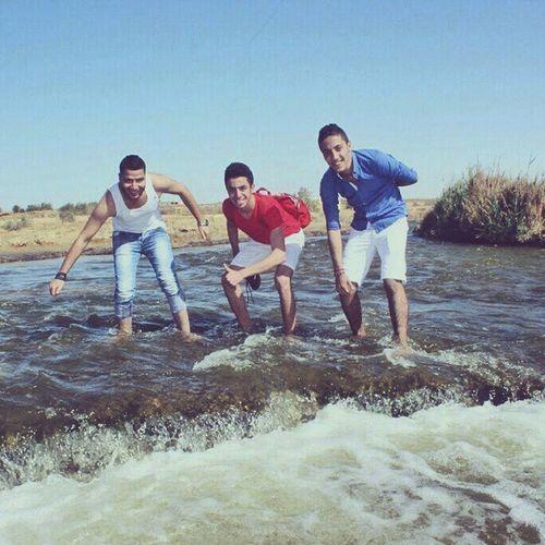 Me With Eslam and Hussien instafriend fun sunhappy instalike good day 27la so7ab wadielryan❤❤❤