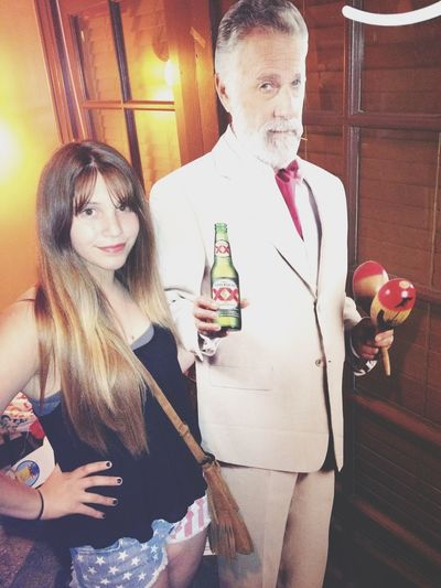 Hanging With The Dos Equis Guy