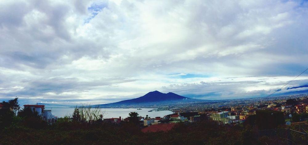 Intimorisce Vesuvio Napoli Vulcano