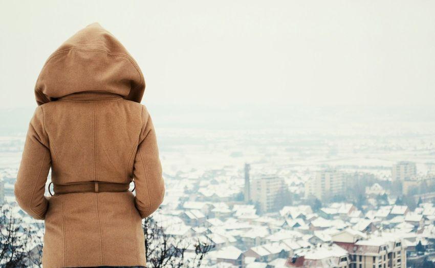 Winter City View  Cityscapes Snow ❄ Girl Serbia SerbianGirl Leskovac Landscape Landscape_photography Landscape #Nature #photography