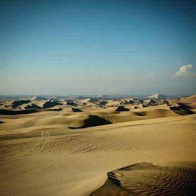 Desert Huacachina Peru Sun Dry Dunes Sand Jgc