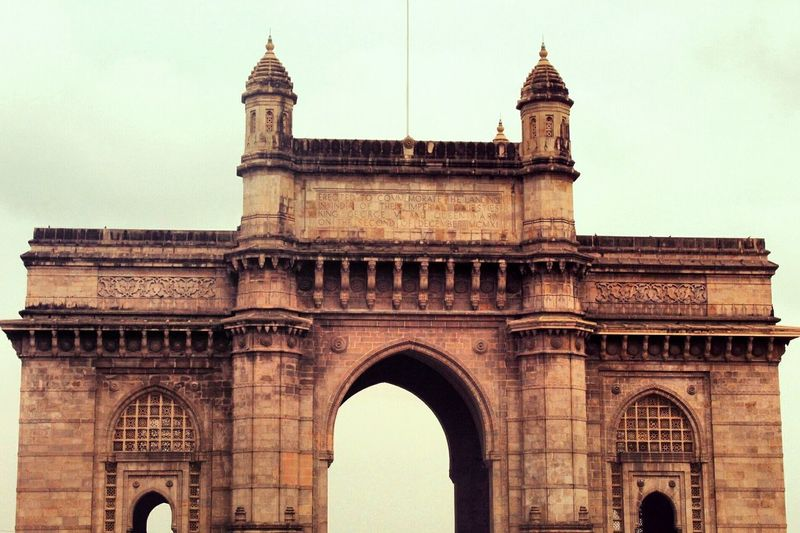 EyeEm Selects Architecture History Travel Destinations Built Structure Triumphal Arch No People City Day Outdoors Arch Gatewayofindia Mumbai India