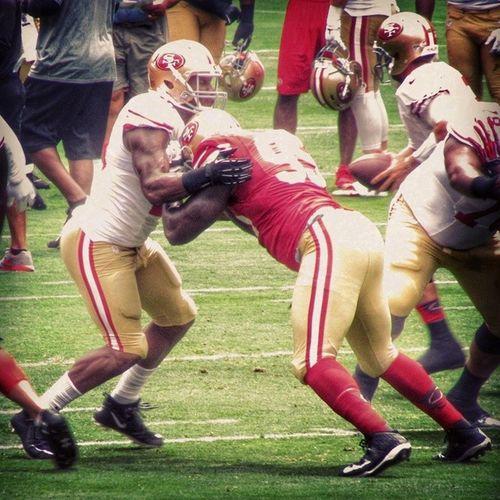 NFL Niners Ninerfan Ninerempire 49ers 49ersfan 49erempire 49erfaithful 49erfans goldblooded goniners 9ers 9ersfan the_niner_empire nfltrainingcamp 49erstrainingcamp sf49ers sanfrancisco49ers tankcarradine 95