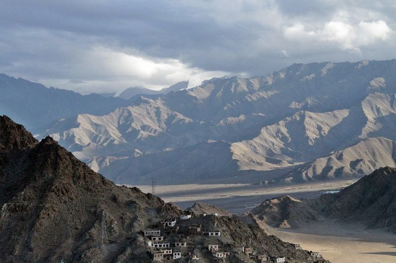 Himalayan mountains Ladakh India EyeEm Best Shots EyeEm Nature Lover EyeEmSelect Himalayan Mountains Beauty In Nature Cloud - Sky Day Environment Formation Indiatravel Indiatraveller Ladakh A View From The Top Ladakh Landscape Ladakhdiaries Ladakhtourism Landscape Mountain Mountain Peak Mountain Range Nature No People Non-urban Scene Outdoors Physical Geography Range Rock Scenics - Nature Sky Snow Snowcapped Mountain Tranquil Scene Tranquility Travel