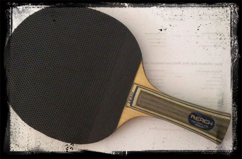 Tabletennis new Blade backside Tischtennis Markt Erlbach