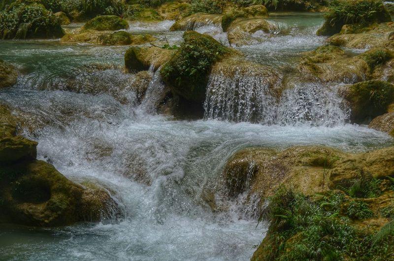 Water, rock, moss Water River Rock Moss Nature Eyeem Philippines