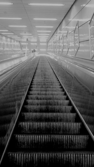Escalator Metro Blackandwhite Black And White Street Street Photography Stairs Station