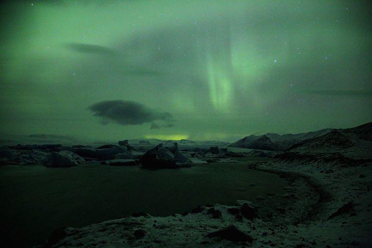 EyeEm Selects Sommergefühle EOS 6D EF 24-105mm Iceland Jökulsárlón Northern Lights Nature Aurora Landscape