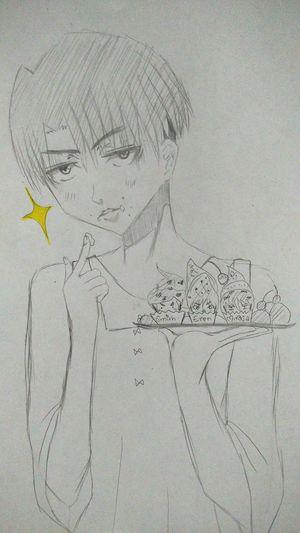 Drawingtime Drawingsomething Drawing Manga Drawing Attackontitan ShingekinoKyojin Levi MyDrawing Manga: Fan Art Mangaart