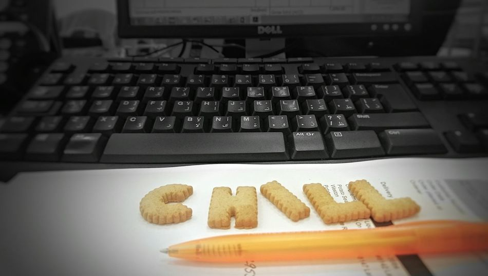 Food Fun Work Break From Work Chill Desk