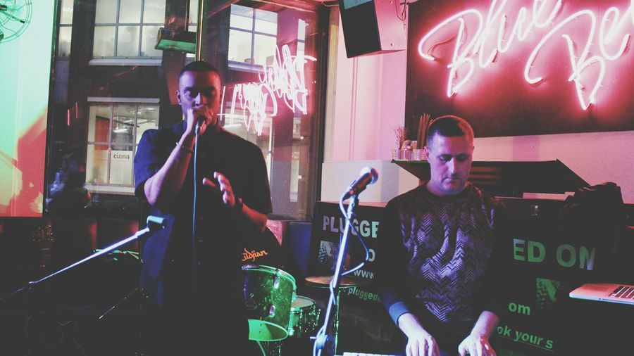 Live Music Sallok&james Enjoying Life Dope♡ What Does Music Look Like To You? London City