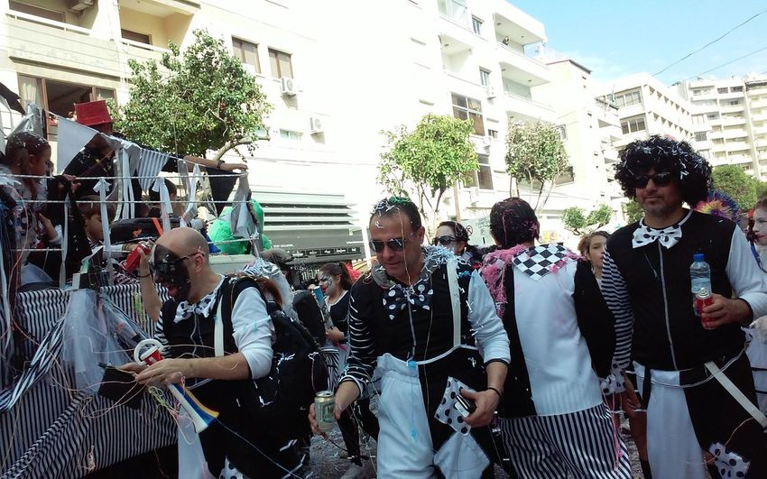 All Ages Carnival Carnival Spirit Carnival Time Crowd Cyprus Fun Funny Happy Faces Limassol Parade People Walking