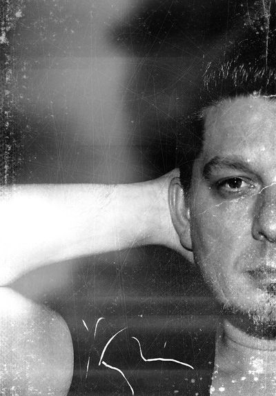 Enjoying Life Relaxing Black & White The Human Condition Photo Art Self Portrait Man Gay That's Me Selfie