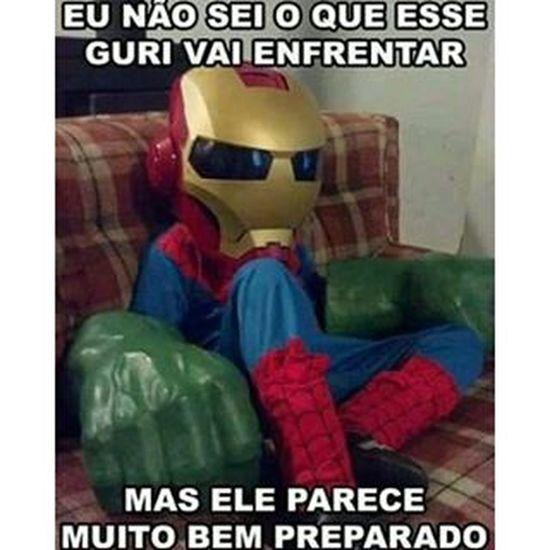 O pequeno Vingador Vingadores Oincrivelhulk Homemdeferro Homemaranha marvelcomics cosplay