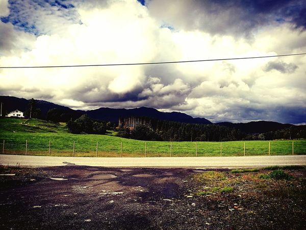Other side Sky LINE Grass Eyem Nature Lovers  EyeMe Best Shot - Landscape