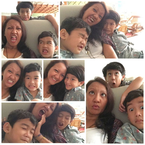 ohhh.. how i miss u both my Nephew  , love my Family