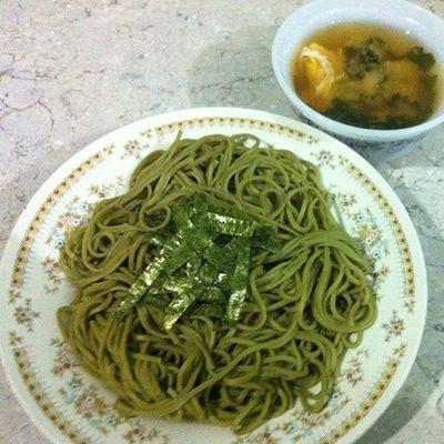 Greenteasoba Homemadefood Experimenting Yerikhochef ;)