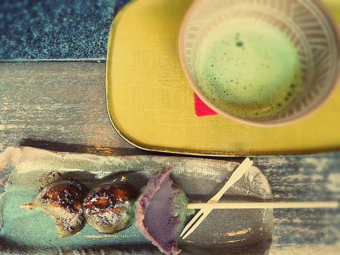 Green Tea Tea Coffee Break Relaxing Japanese Sweets Traveling Holiday
