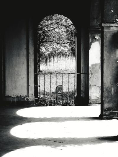 Shadow ans light Natural Structures Blackandwhite Stone Material Atmospheric Mood Still Life Backgrounds Pattern, Texture, Shape And Form Shadows & Lights Structures No People Looking To The Other Side Looking Through An Object monochrome photography Potsdam Park Sanssouci Quiet Places Architecture Focus On Shadow Building Passageway Building Exterior Built Structure Tall - High Shadow Historic See Through Historic Building Exterior