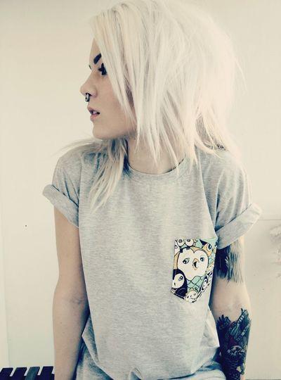 GotIt Pircing Tattoo Blond