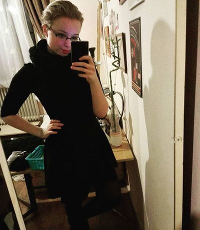 Little black dress OneYearAgo Throwback Black Littleblackdress Poser Mik