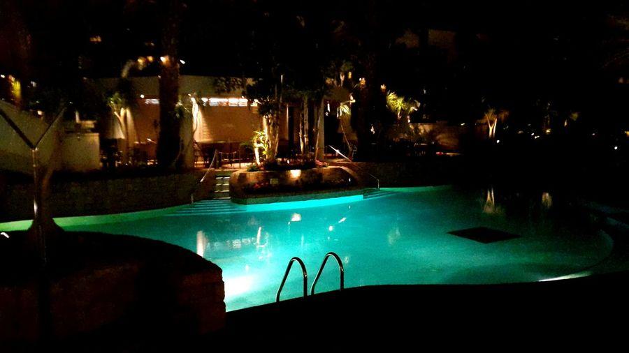 Water Light Night Romantic Nice