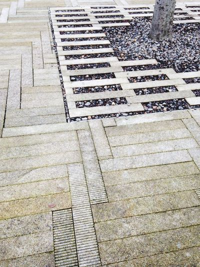 Ground Pavement Sidewalk Pattern