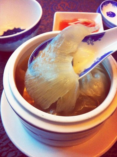 Chinese Food Shark Fin Soup