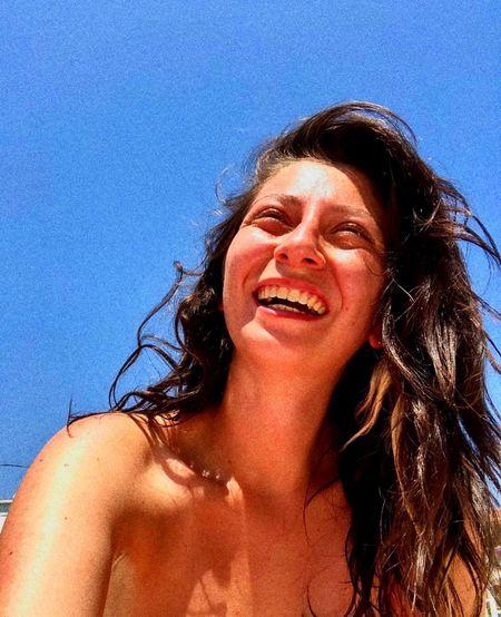 Smile Sky Blue