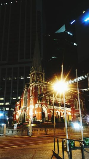 Enlightenment Motoz MotozDroid Photography Nightphotography Night Lights City Lights Church Church Architecture Historical Building Vintage Photo Industry No People Sky EyeEmNewHere